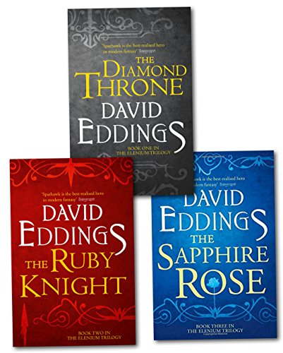 9780007950324: The Complete Elenium Trilogy: The Diamond Throne, The Ruby Knight, The Sapphire Rose by David Eddings