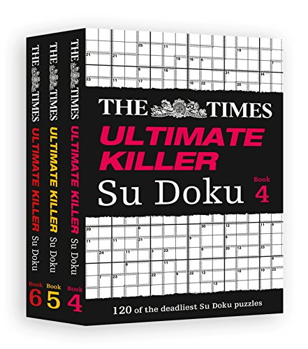 9780007953172: The Times Ultimate Killer Su Doku Gift Set