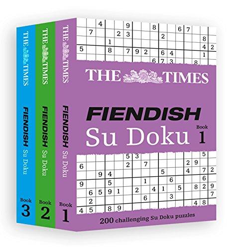 9780007953189: The Times Fiendish Su Doku Gift Set