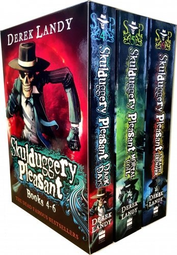 9780007957880: Skulduggery Pleasant - Series 2- Derek Landy 3 Books Collection Box Set (Book 4-6)