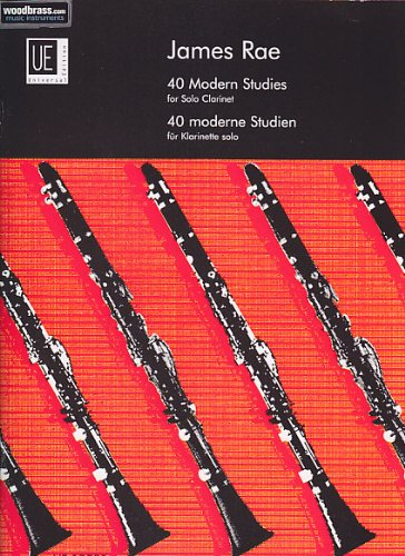 9780008045333: UNIVERSAL EDITION RAE J - 40 MODERN STUDIES - CLARINETTE Educational books Clarinet