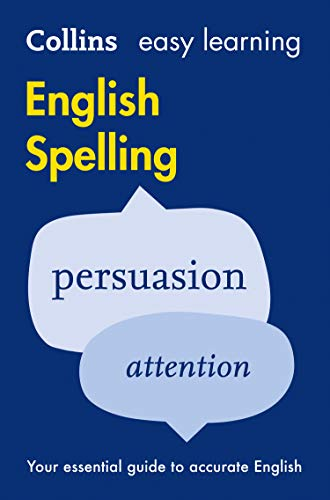 9780008100810: Easy Learning English Spelling (Collins Easy Learning English)