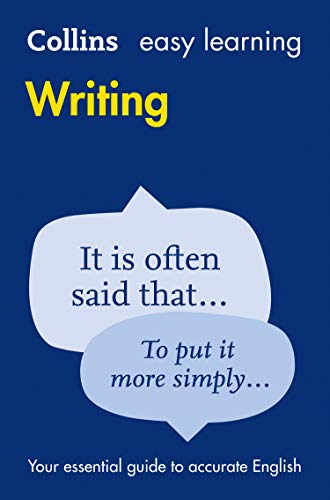 9780008100827: Easy Learning Writing (Collins Easy Learning English)
