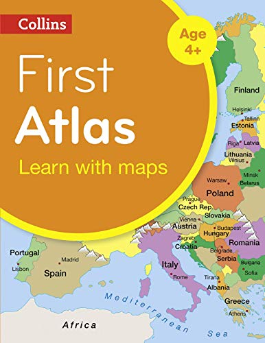 9780008101015: Collins First Atlas (Collins Primary Atlases)