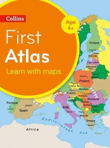 9780008101022: Collins First Atlas (Collins Primary Atlases)