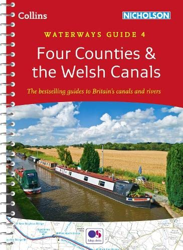 9780008101596: Collins Nicholson Waterways Guides - Four Counties & The Welsh Canals [New Edition]