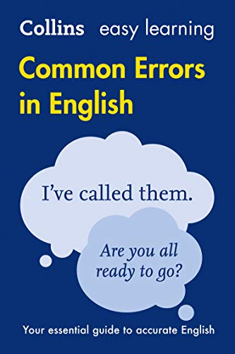 9780008101763: Collins Common Errors in English (Collins Easy Learning)