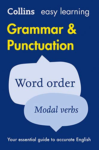 9780008101787: Easy Learning Grammar and Punctuation (Collins Easy Learning English)