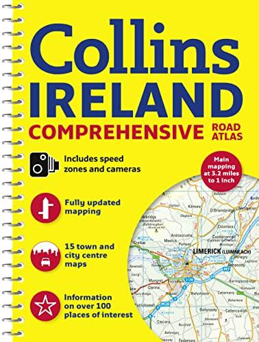 9780008102289: Collins Ireland Comprehensive Road Atlas