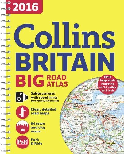 9780008102296: 2016 Collins Big Road Atlas Britain