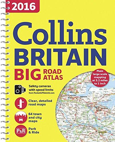 9780008102296: 2016 Collins Big Road Atlas Britain