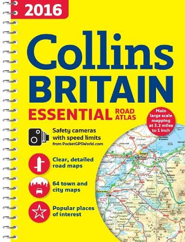 9780008102302: 2016 Collins Britain Essential Road Atlas
