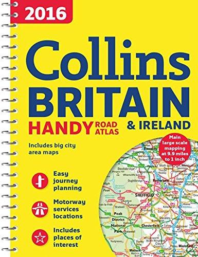 9780008102319: 2016 Collins Handy Road Atlas Britain & Ireland
