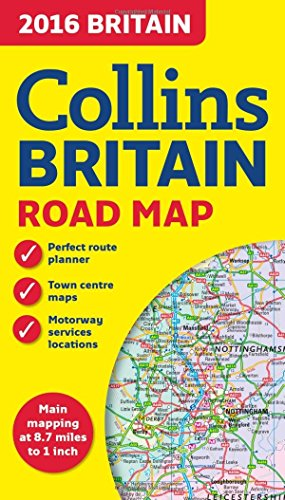 9780008102333: 2016 Collins Map of Britain (Road Map)