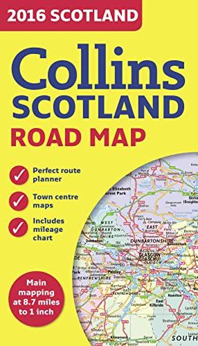 9780008102340: 2016 Collins Scotland Road Map