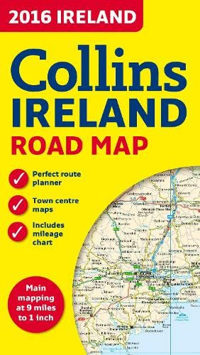 9780008102364: 2016 Collins Ireland Road Map