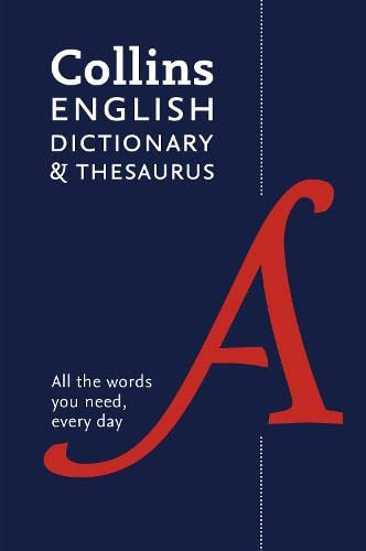 9780008102876: Collins English Paperback Dictionary And Thesaurus
