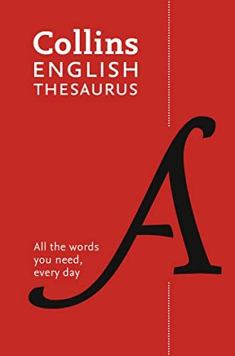 9780008102890: Collins English Paperback Thesaurus