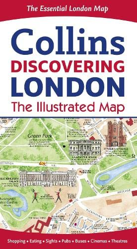 9780008104559: Discovering London Illustrated Map
