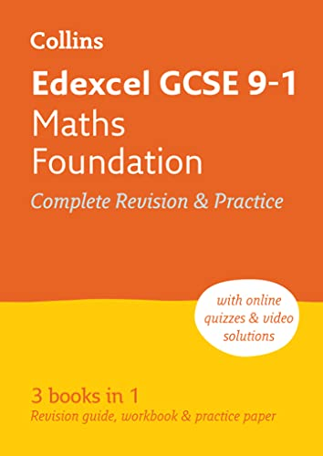 9780008112493: Edexcel GCSE Maths Foundation Tier: All-in-One Revision and Practice (Collins GCSE Revision and Practice - New 2015 Curriculum)