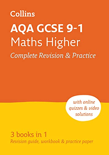 9780008112509: AQA GCSE Maths Higher Tier All-in-One Revision and Practice (Collins GCSE Revision and Practice - For the 2017 Exams)