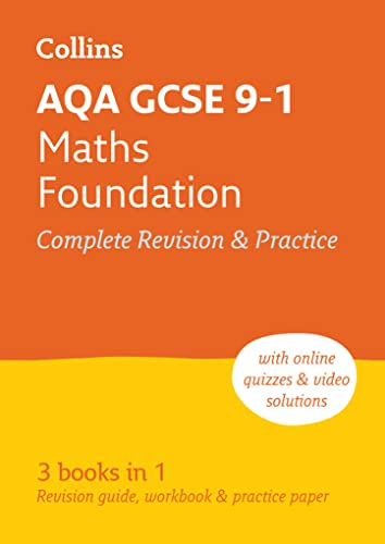 9780008112516: AQA GCSE Maths Foundation Tier All-in-One Revision and Practice (Collins GCSE Revision and Practice - For the 2017 Exams)