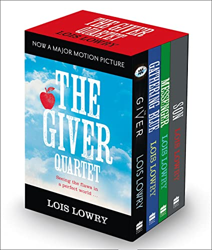 9780008113490: The Giver Boxed Set: The Giver, Gathering Blue, Messenger, Son (The Giver Quartet)