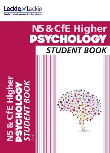 9780008113513: Course Notes - National 5 & CfE Higher Psychology Course Notes