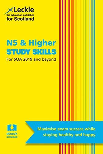 9780008113537: N5 & Higher Study Skills