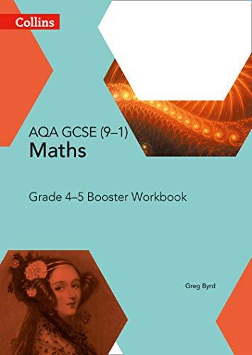 9780008114190: GCSE Maths AQA Grade 4/5 Booster Workbook (Collins GCSE Maths)