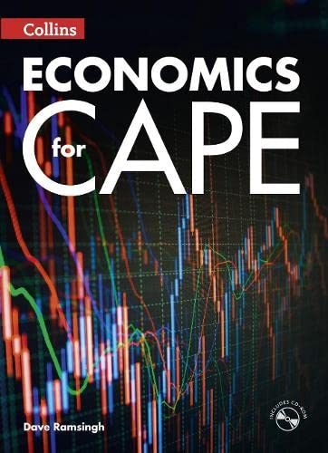 9780008115890: Collins Economics for CAPE (Collins CAPE Economics)