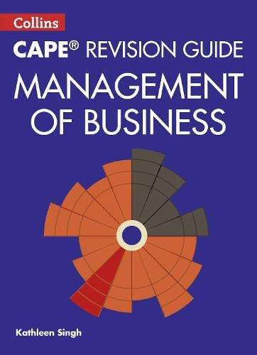 9780008116064: Collins Cape Revision Guide - Management of Business (Collins CAPE Management of Business)