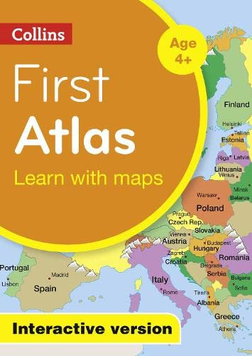 9780008117436: Collins First Atlas: Interactive Version (Collins Primary Atlases)