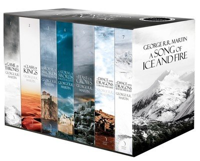 9780008118266: A Song of Ice and Fire - Premium Limited Edition (Set of 7 Books)