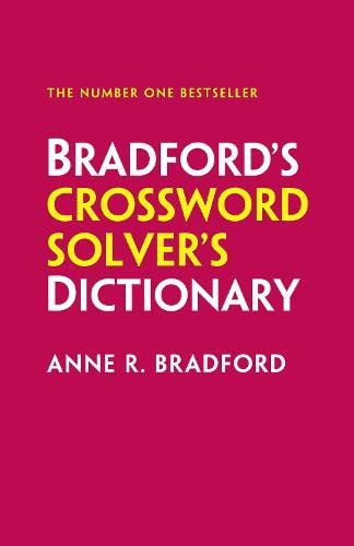 9780008121228: Collins Bradford's Crossword Solver's Dictionary