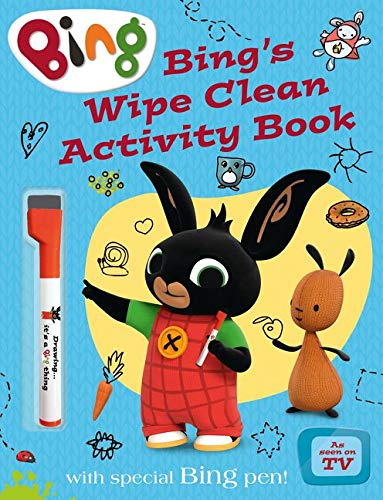 9780008122201: Bing's Wipe Clean Activity Book (Bing)