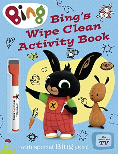 9780008122201: Bing's Wipe Clean Activity Book