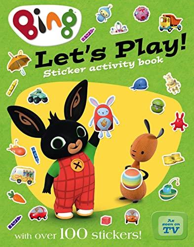 9780008122287: Playtime Sticker Activity Book (Bing)