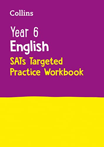 9780008125189: Year 6 English Targeted Practice Workbook (Collins KS2 SATs Revision and Practice - New 2014 Curriculum)