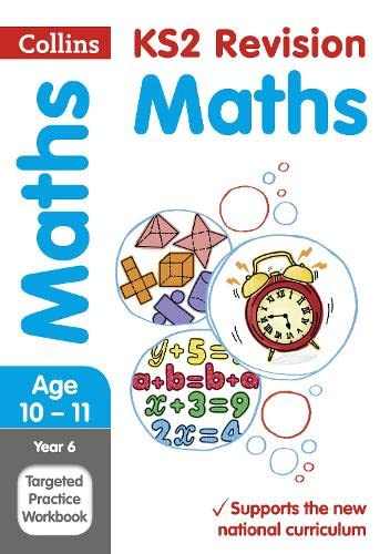 9780008125202: Year 6 Maths Targeted Practice Workbook (Collins KS2 SATs Revision and Practice - New 2014 Curriculum)