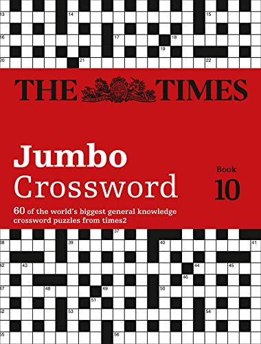 9780008127558: The Times 2 Jumbo Crossword Book 10: 60 of the World's Biggest Puzzles from The Times 2