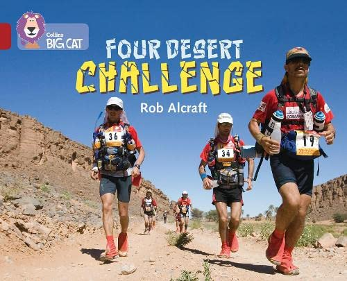 9780008127817: Four-Desert Challenge: Band 14/Ruby (Collins Big Cat)