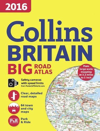 9780008132897: 2016 Collins Big Road Atlas Britain