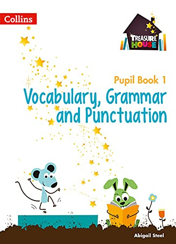 9780008133368: Treasure House - Year 1 Vocabulary, Grammar and Punctuation Pupil Book