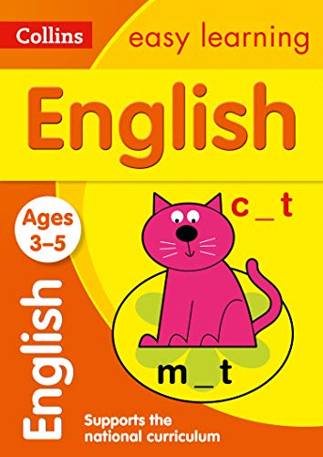 9780008134204: Collins Easy Learning Age 3-5 — English Ages 4-5: New Edition