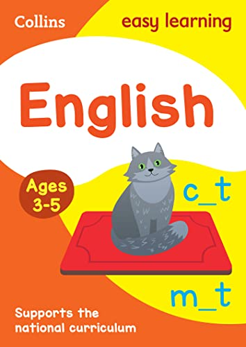 9780008134204: Collins Easy Learning Preschool - English Ages 4-5: New Edition