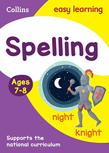 9780008134242: Collins Easy Learning Age 7-11 -- Spelling Ages 7-8: New Edition