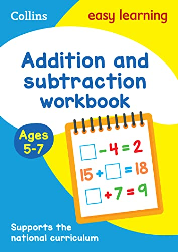 9780008134297: Collins Easy Learning Age 5-7 — Addition and Subtraction Workbook Ages 5-7: New Edition