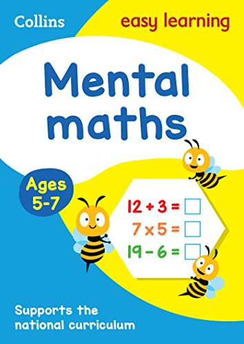 Collins Easy Learning KS1 - Mental Maths Ages 5-7: New Edition (Collins Easy Learning Age 5-7): ...