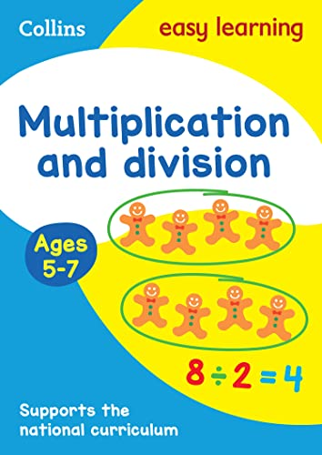 9780008134341: Multiplication and Division Ages 5-7: New Edition (Collins Easy Learning KS1)